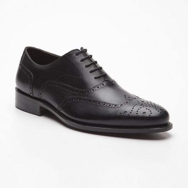 09a1dff7ae5 PRIME SHOES, OXFORD klassik Full Brogue with leather outsole upper calfskin  with leather lining welted with cork lining normal last shape with 5-hole  flat ...